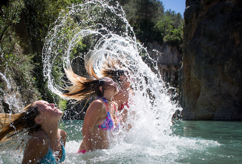 Great pictures taken at the Montanejos hot springs tour
